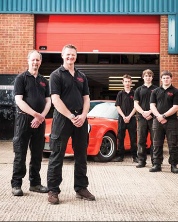 Redtek staff, Brackley